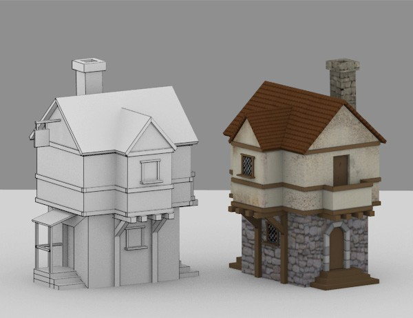 lowpoly-house