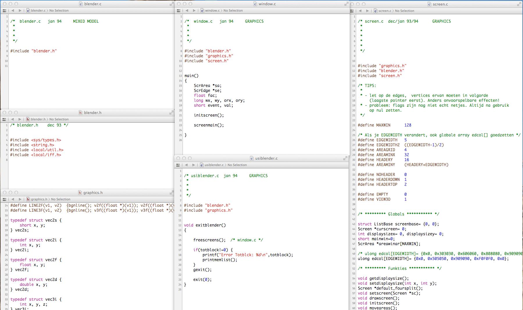 blender-code