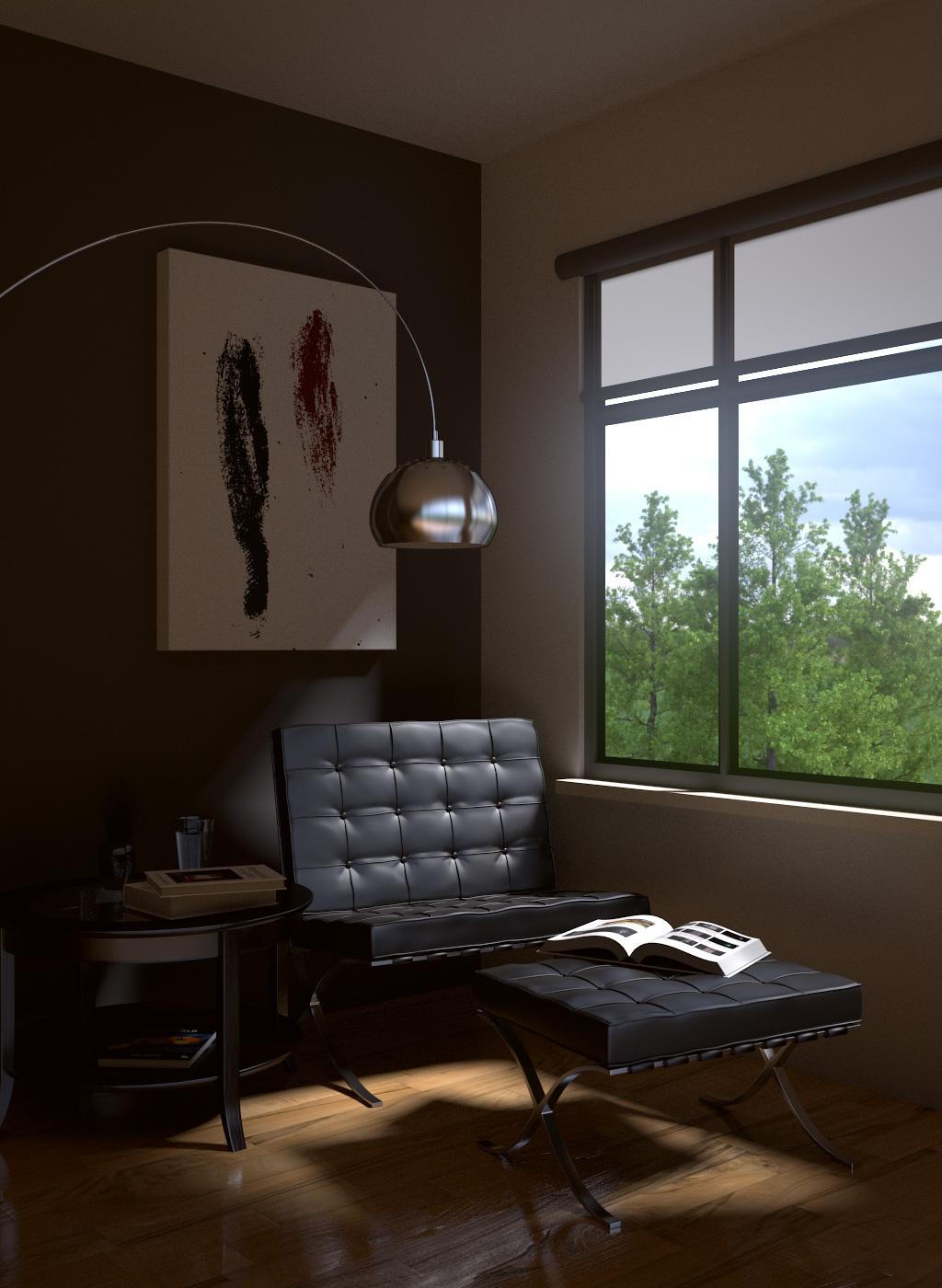 Моделируем комнату с мебелью Полупьедестал Roca Hall 337621000