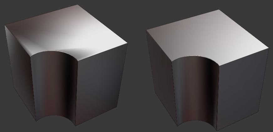 Blender2.8_Bevel_bevnormmodifer